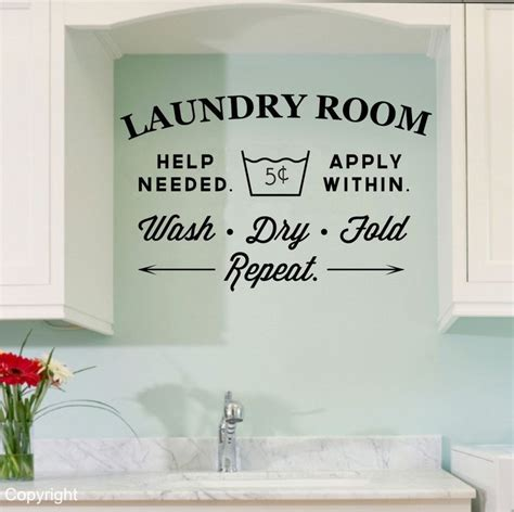 Best 25+ Laundry Room Decals Ideas On Pinterest Laundry
