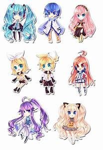 Vocaloid Chibi Set by CaptainStrawberry on DeviantArt