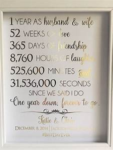 the 25 best 1st anniversary gifts ideas on pinterest With one year wedding anniversary gifts for her