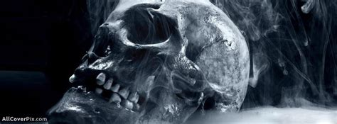 skull scary facebook cover