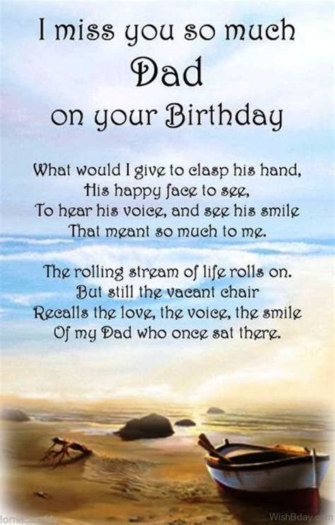 birthday wishes  dad  heaven
