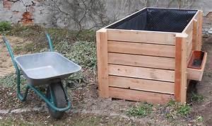 Hochbeet Lärche Bausatz : konstruktion hochbeete komposttoilette ~ Frokenaadalensverden.com Haus und Dekorationen