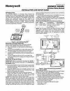 Honeywell 5800rl Install Guide
