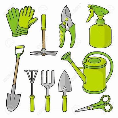 Tools Clipart Garden Clip Cliparts Clker