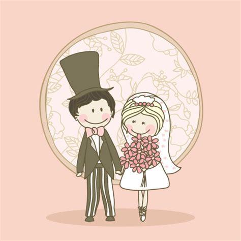 wedding vector cartoon elements   vector