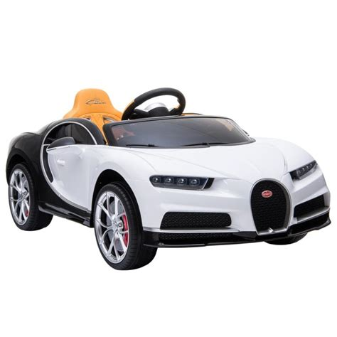 Bugatti has added the pur sport model to the chiron lineup for 2021. 12V Kids Ride On Car Bugatti Chiron White/Black - ToyZag