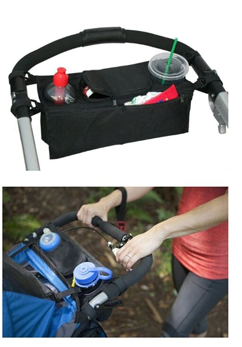 ejy sac pochette de rangement pour poussette poussettes accrocher le sac sac de rangement de