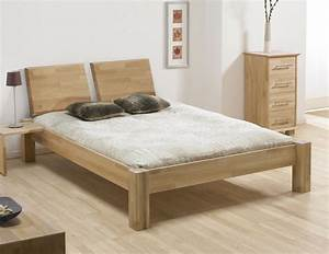 Design Bett Holz : bett ariano massivholzbett mit starken beinen ~ Orissabook.com Haus und Dekorationen