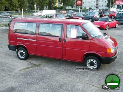 Volkswagen Caravelle Hd Picture by 1995 Volkswagen T4 2 0 I 8sitzer 2 Hd Scheckh Non