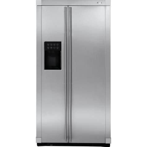 ge monogram zfsbdrgss  standing side  side refrigerator