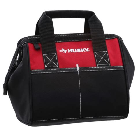 Husky 10 In Tool Bag, Red82124n14  The Home Depot