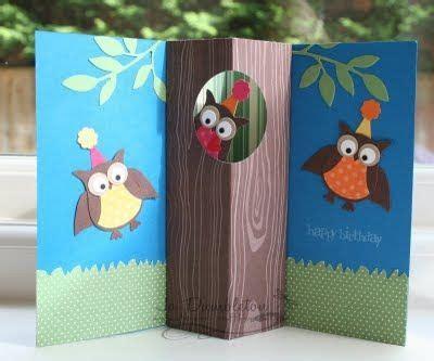 owl pop up card template adorable card great idea oh scrap handmade cards