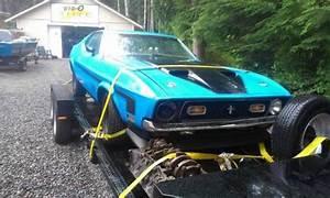 1971 Mustang Mach 1 J-Code 429 Sportsroof Roller | Bring a Trailer