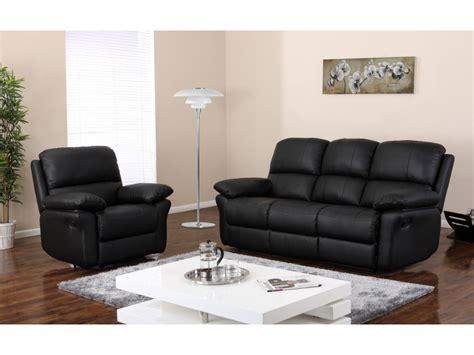 canapé fauteuil relax canapé ou fauteuil relax en cuir 3 coloris milagro