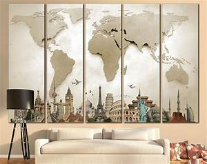 Appealing living room wall hangings with large art