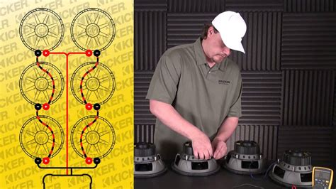 Subwoofer Wiring Six Ohm Svc Subs Series Parallel