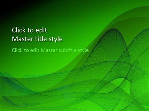 green design powerpoint template  powerpoint