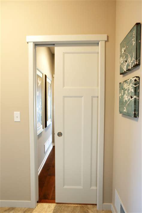 Pocket Closet Door by Pocket Barn Doors Craftsman Other Metro By