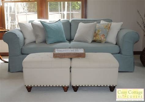 Slip Covers by Cozy Cottage Slipcovers Fresh New Look With Slipcovers