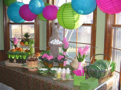 Easter Decorating Ideas - easter brunch tablescapes at table twenty one