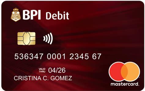 debit cards bpi cards