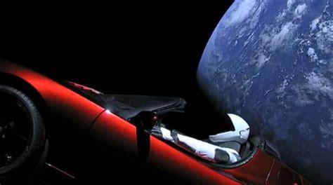 Get Tesla Car In Space Gif