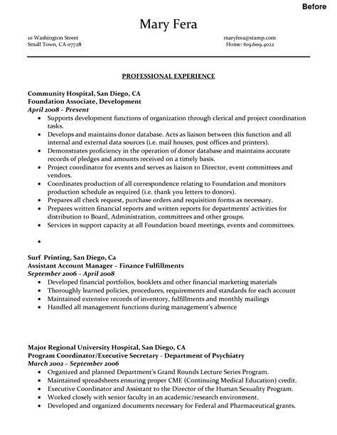 administrative assistant resume executive administrative assistant resume examples