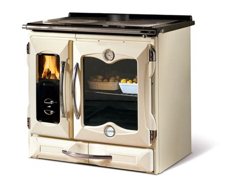 suprema oven suprema wood burning cooker with enamelled cast iron covering