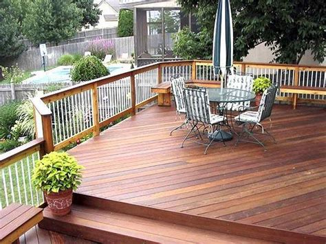 Flooring  How Much Does It Cost To Build A Deck Deck