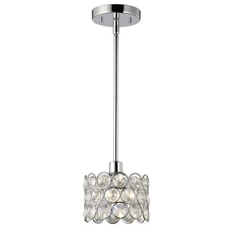 canarm ist184b01ch10 rohe 1 light pendant chrome canarm pendant lighting goinglighting