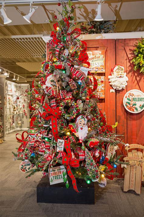 christmas tree country santa  tree lot christmas tree