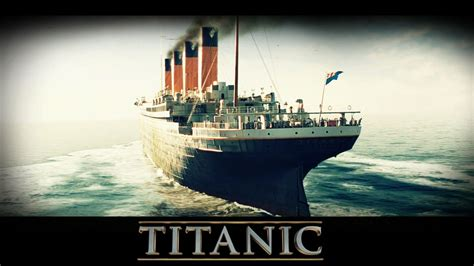 Titanic Movie Boat Model by Titanic Ship Wallpapers Wallpaper Cave