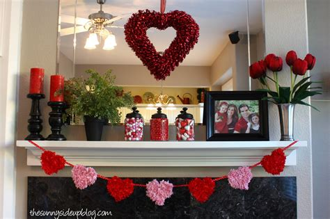 valentines day mantel winter and valentines mantel the sunny side up blog