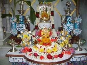 Lakshmi pooja decorations - YouTube