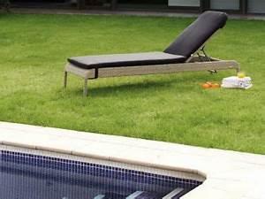 Transat Resine Tressee : un transat de jardin en r sine salon de d tente ext rieur haut de gamme ~ Farleysfitness.com Idées de Décoration