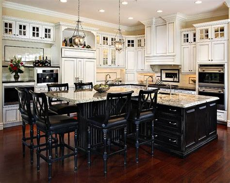 t shaped kitchen islands this t shape kitchen island design pictures