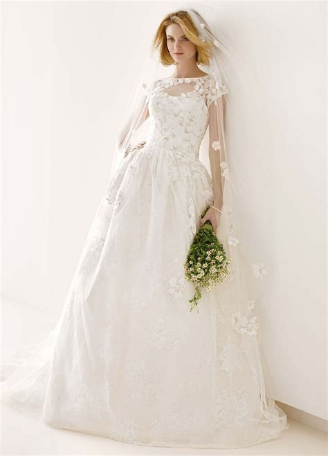 melissa sweet lacquered lace ball gown wedding dress