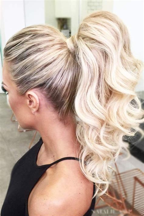 ideas  ponytail hairstyles  pinterest