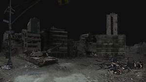 Destroyed City Matte Painting by MartinVFX on DeviantArt