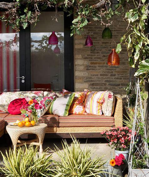 sunny delight  outdoor decor ideas real simple