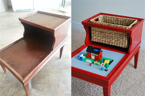 How To Create An Easy Lego Table For Your Kids