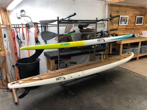 freestanding  rack  paddleboard storage stand