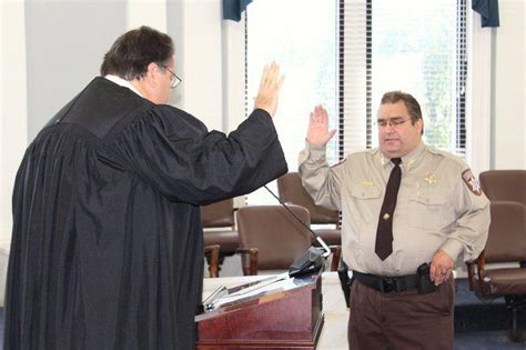 payne county sheriff kevin woodward takes office news