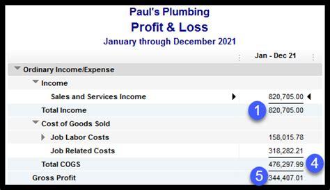 complete schedule  profit  loss   business