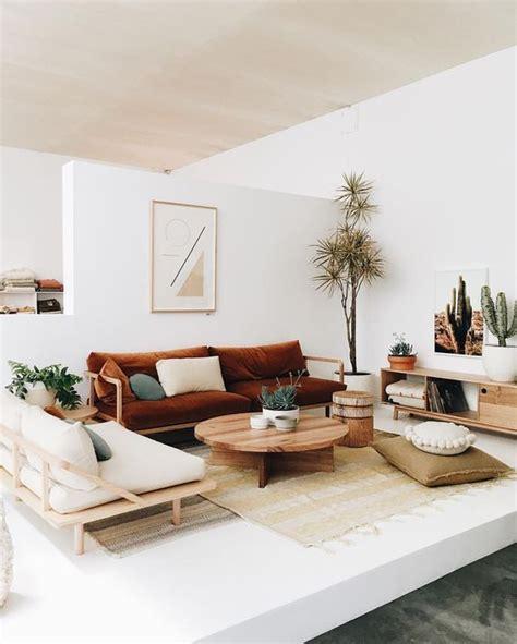 Minimalistische Wohnzimmer Einrichtungsideenmoderne Wohnzimmer Interieur by Skandinavisches Interieur Boho Vibes Minimalismus