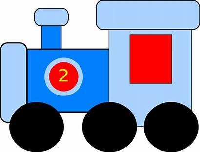 Train Clip Clipart Trains Cartoon Toy Engine