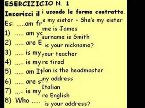 Ingresso Traduzione Inglese Esercizi Di Inglese Test N 1