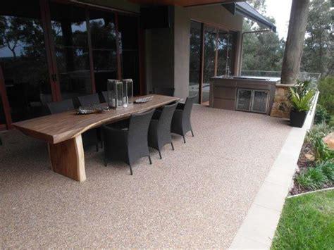 concrete polished outdoor patios verandahs eco grind