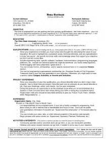 high student resume objective sles job resume exles no experience resume format download pdf