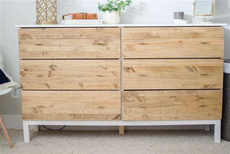 how to make a dresser diy bedroom dresser ikea tarva dresser